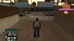 C-HUD 2Pac for GTA San Andreas