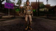Blackburn from Battlefield 3 for GTA San Andreas