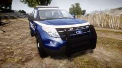 Ford Explorer 2013 LCPD [ELS] v1.0L for GTA 4