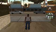C-HUD LSW for GTA San Andreas