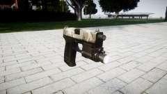 Gun HK USP 45 woodland