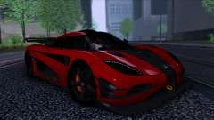 Koenigsegg One:1 2014 for GTA San Andreas