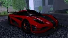 Koenigsegg One:1 2014 for GTA San Andreas