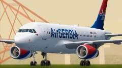 Airbus A319-100 Air Serbia