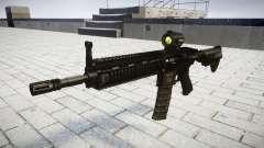 Machine HK416 AR target