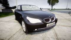 BMW 525d E60 2009 Police [ELS] Unmarked