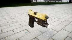 Gun HK USP 45 gold