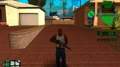 C-HUD Grove Street TAWER for GTA San Andreas