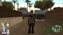 C-HUD Canabis for GTA San Andreas
