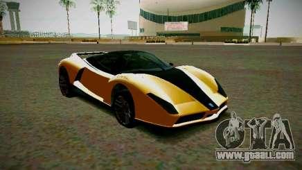 Cheetah из GTA 5 for GTA San Andreas