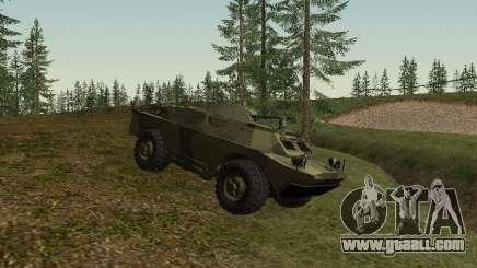 BRDM 2 for GTA San Andreas