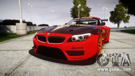 BMW Z4 GT3 2010 NEO ZEON for GTA 4