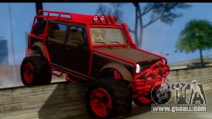 GTA 5 Mesa MerryWeather for GTA San Andreas