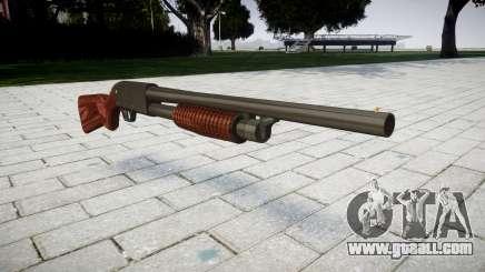 Riot shotgun Ithaca M37 for GTA 4