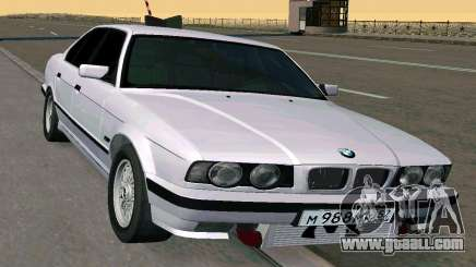 BMW 525 Turbo sedan for GTA San Andreas