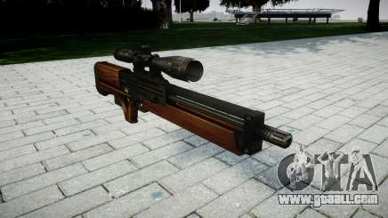 Sniper rifle Walther WA 2000 for GTA 4
