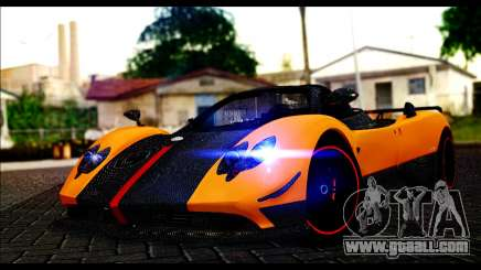 Pagani Zonda Cinque Roadster родстер for GTA San Andreas