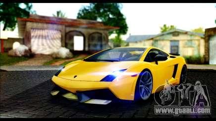 Lamborghini Gallardo LP 570-4 for GTA San Andreas