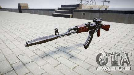 Автомат АК-47 Collimator and Muzzle brake target for GTA 4