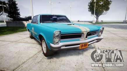 Pontiac GTO 1965 victory cars for GTA 4