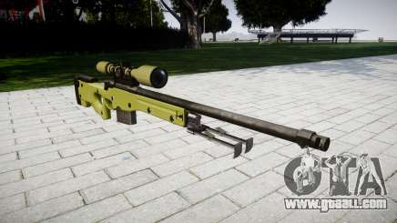 Sniper rifle AWP for GTA 4