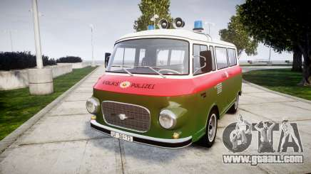 Barkas B1000 1961 Police for GTA 4