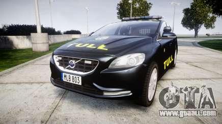 Volvo V40 Swedish TULL [ELS] for GTA 4