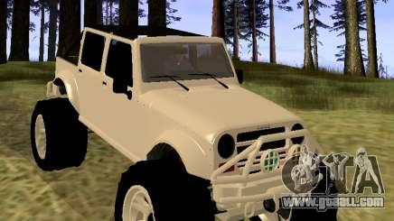 GTA 5 Mesa MerryWeather version for GTA San Andreas