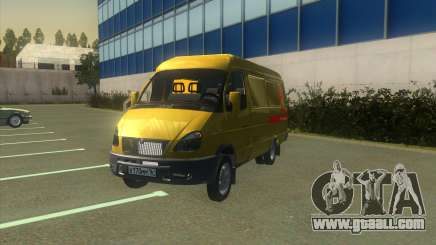 GAZelle 2705 Collection Of Alfa Bank for GTA San Andreas