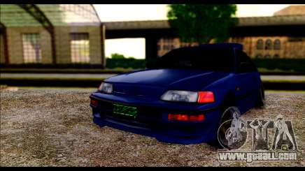 Honda CRX for GTA San Andreas