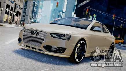 Audi RS4 B8 2013 v1 for GTA 4
