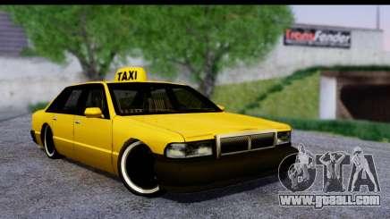 Slammed Taxi for GTA San Andreas