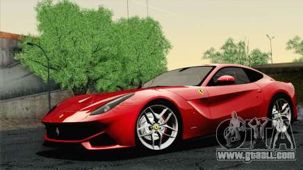 Ferrari F12 Berlinetta 2013 for GTA San Andreas