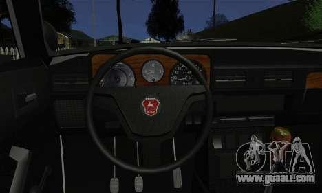 GAZ 3102 Volga - Sheriff for GTA San Andreas back left view