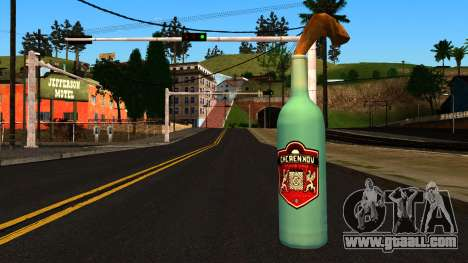 Molotov Cocktail from GTA 4 for GTA San Andreas second screenshot