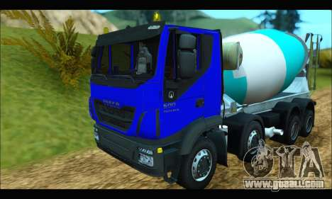 Iveco Trakker 2014 Concrete for GTA San Andreas