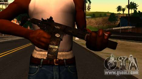 HoneyBadger from CoD Ghosts v2 for GTA San Andreas third screenshot