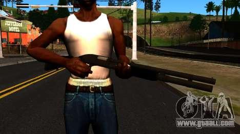 Black MP-133 with Glitter for GTA San Andreas third screenshot