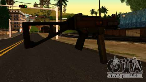 UMP45 from Battlefield 4 v1 for GTA San Andreas second screenshot