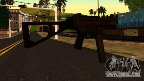 UMP45 from Battlefield 4 v1 for GTA San Andreas second screenshot