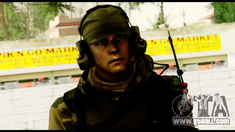 Engineer from Battlefield 4 for GTA San Andreas third screenshot