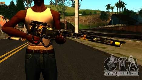 Laser Rifle Wattz 2000 for GTA San Andreas third screenshot