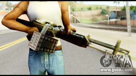 M63 from Metal Gear Solid for GTA San Andreas third screenshot