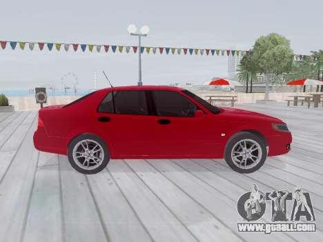 Saab 95 for GTA San Andreas inner view