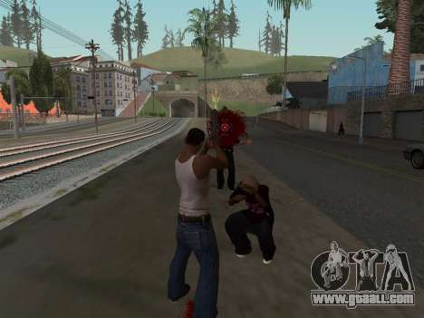 Blood Effects for GTA San Andreas