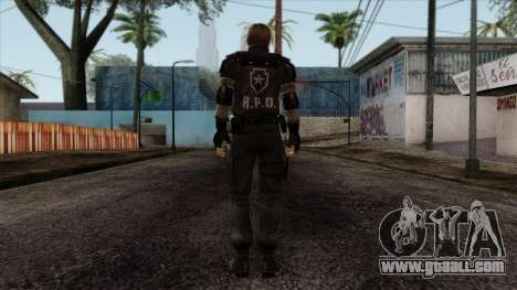 Resident Evil Skin 7 for GTA San Andreas second screenshot