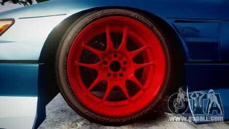 Nissan Silvia S13 1JZ for GTA 4 back view