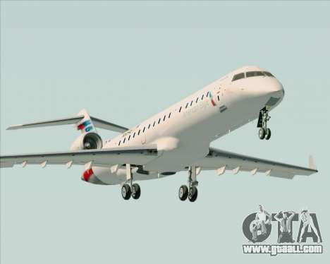 Bombardier CRJ700 American Eagle Airlines for GTA San Andreas engine