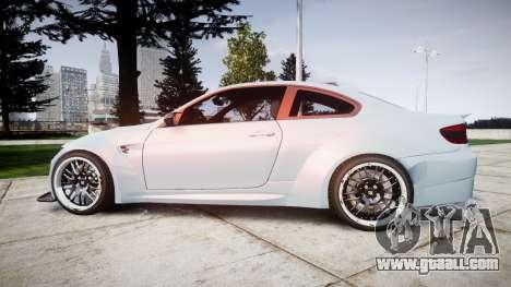 BMW E92 M3 LibertyWalk for GTA 4 left view