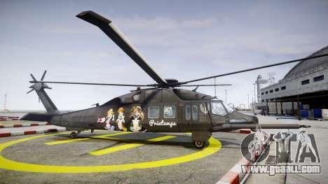 Sikorsky MH-X Silent Hawk [EPM] Printemps for GTA 4 left view